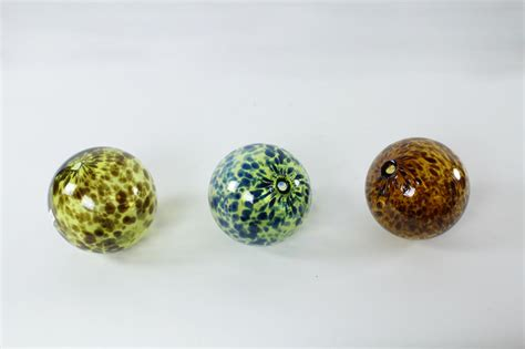 recycled glass balls blown recycled glass balls 2