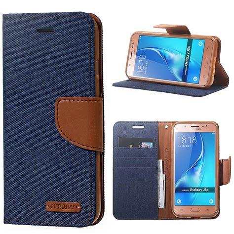 Ume Original Flip Samsung Galaxy J7 2016 J710 luxury canvas texture leather cover sfor samsung galaxy j5 j7 2016 j510 j710 a510 note 3 4 5 7