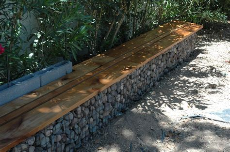 gabion bench gabion walls what they are and how to use them in your