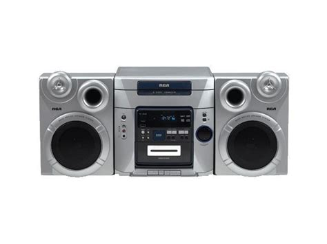 cd cassette stereo shelf system rca cd cassette mp3 radio shelf system rs2653 shelf system
