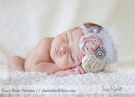 tutorial photoshop newborn vintage inspired baby headband tutorial cherished bliss
