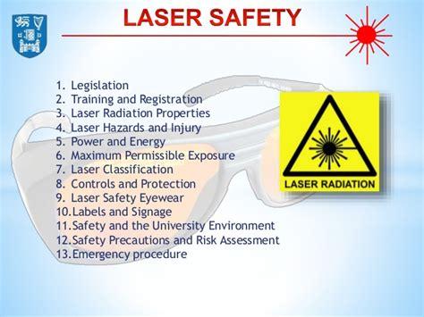 laser safety training slideshare