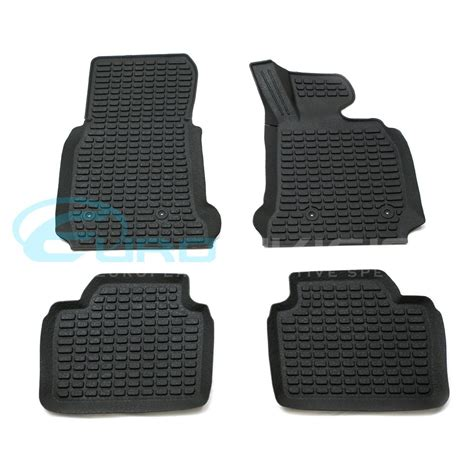 bmw 3 series f30 3d rubber floor mats custom made euro division your european automotive