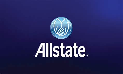 blue allstate business card design 201201