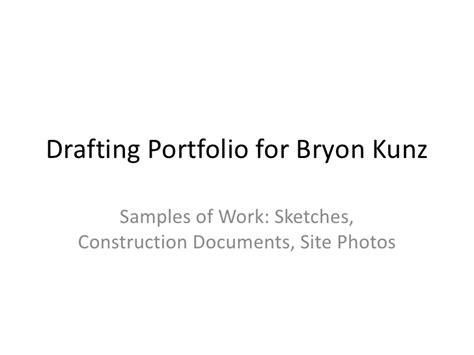 pattern drafting portfolio sle of work drafting portfolio