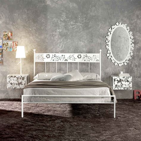 white wrought iron bed frame wrought iron beds style strength comfort rustic pine bed