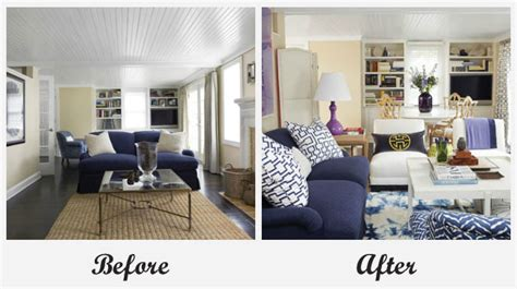 room makeovers each featuring a different before and