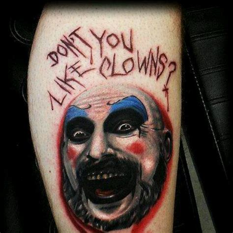 captain tattoo captain spaulding tattoos related
