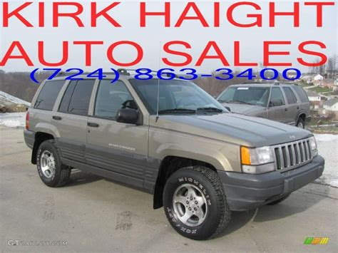 gold jeep grand cherokee 1997 char gold satin glow jeep grand cherokee laredo 4x4