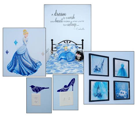 cinderella bedroom decor from balancingmama fit for our princess cinderella