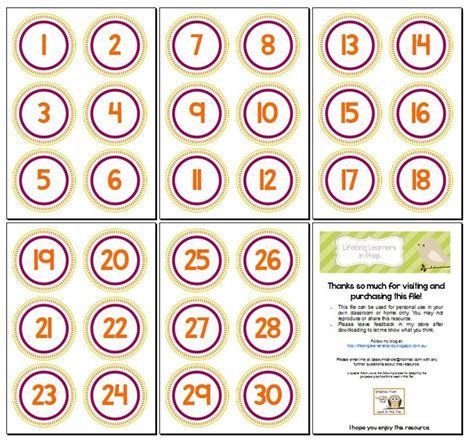printable number labels number labels bing images