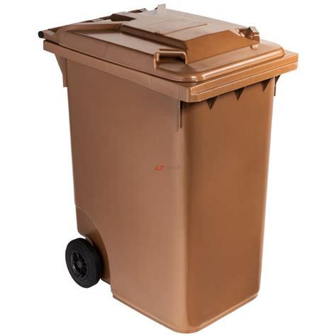 poubelle plastique 224 360 litres