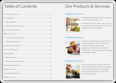 free product catalog template word excel word templates