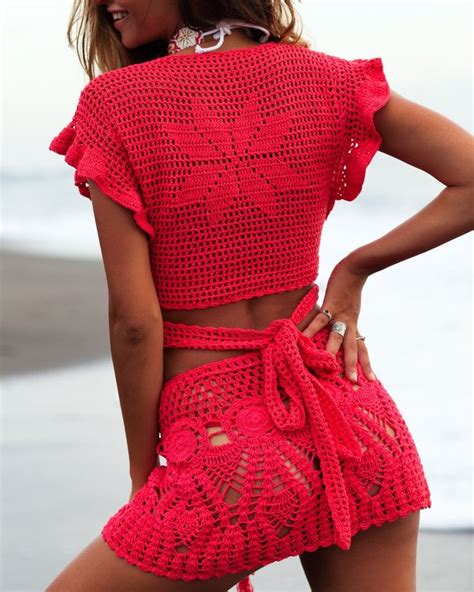 Dress Lp Pineaplle 444 7 17 best images about 1 summer crochet cover up swimwear on crochet shorts