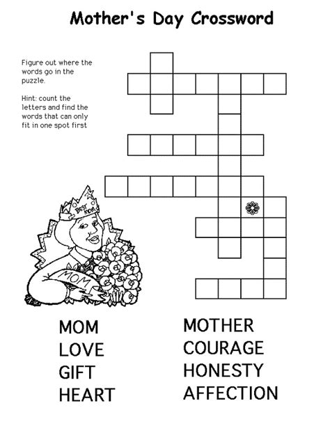 easy crossword puzzles for seniors activity shelter easy crosswords for kids to print activity shelter