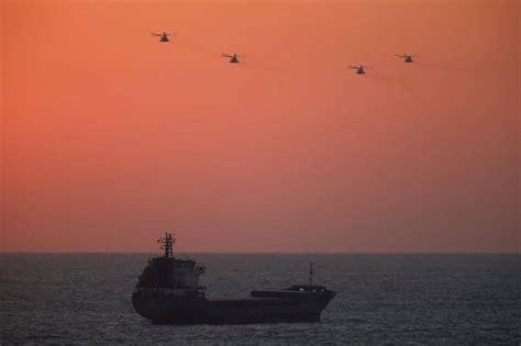 cuando un barco llega a puerto gaza flotilla efe