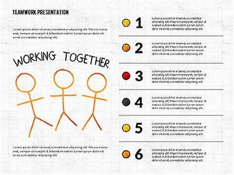 Teamwork Presentation In Chalkboard Style For Powerpoint Presentations Download Now 02748 Teamwork Ppt