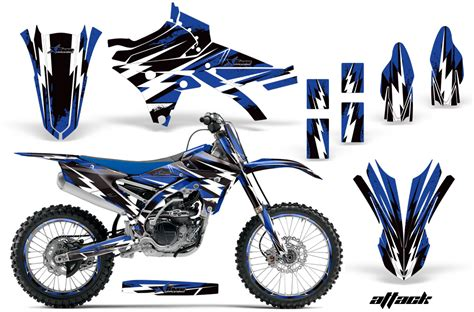 design graphics for dirt bike 2014 2017 yz 250 450f yamaha motocross graphic sticker kit