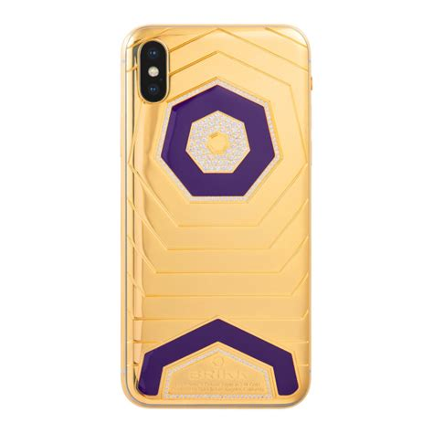 lux iphone xs  xs max deluxe triple   yellow gold