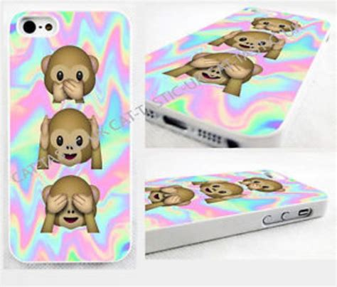 emoji wallpaper iphone 5c tie dye monkey emoji emojis iphone 4 4s 5c 5s 5 bright