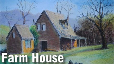 farm house plans pastoral perspectives how to draw buildings in pastel online art lessons