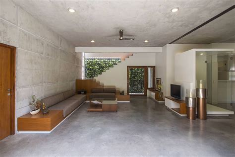 badri residence modern indian home architecture paradigm
