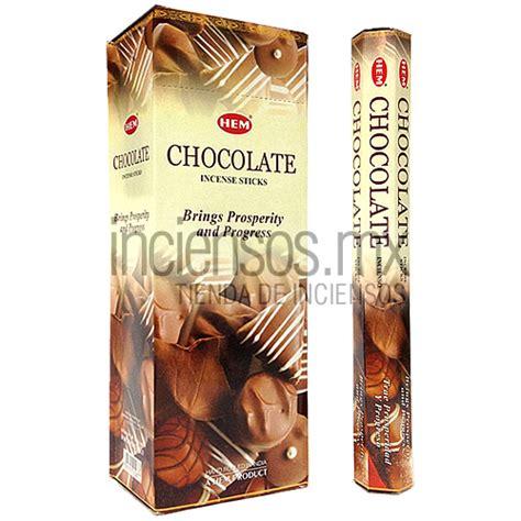 Hem Chocolate incienso hem de chocolate 120 varitas 183 inciensos mx