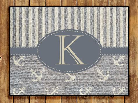 Personalized Door Mats Outside by Personalized Door Mat Monogrammed Doormat Custom Home And