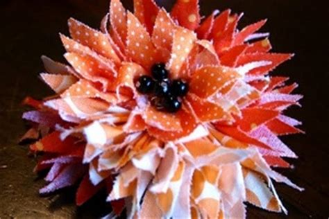 free patterns and instruction on making flower hair clips how to make hair accessories 23 free patterns