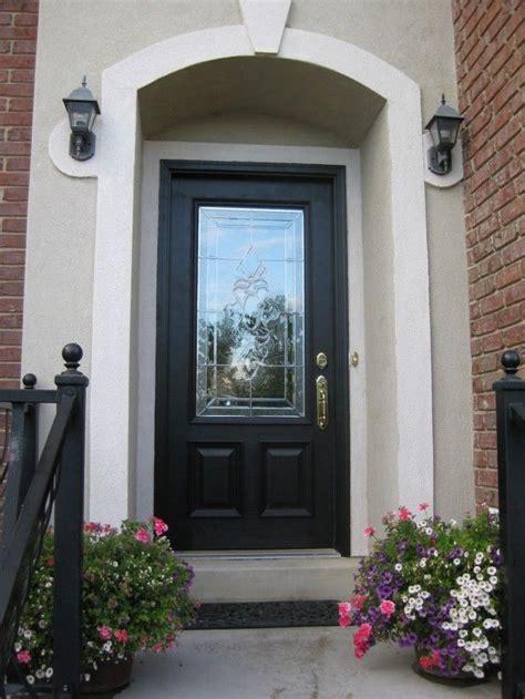 glass front door exterior astonishing black front doors design picture