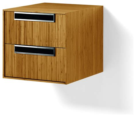 solid wood bathroom wall cabinets canavera 2 drawer storage unit cabinet box bamboo solid
