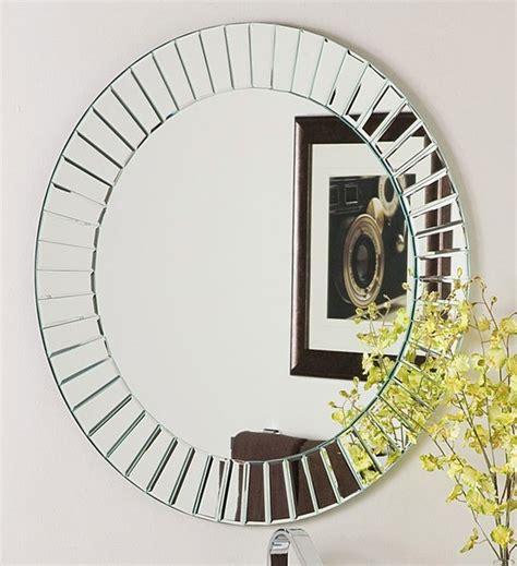 modern wall mirror glow modern frameless wall mirror contemporary wall
