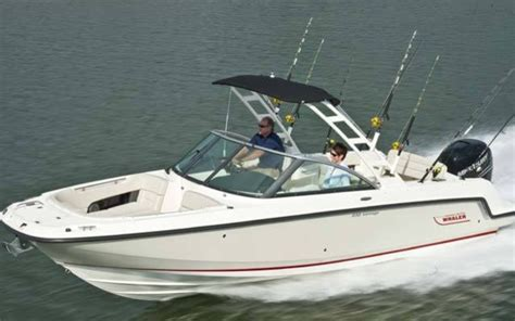 boston whaler 270 vantage boat test 2015 boston whaler 230 vantage tests news photos