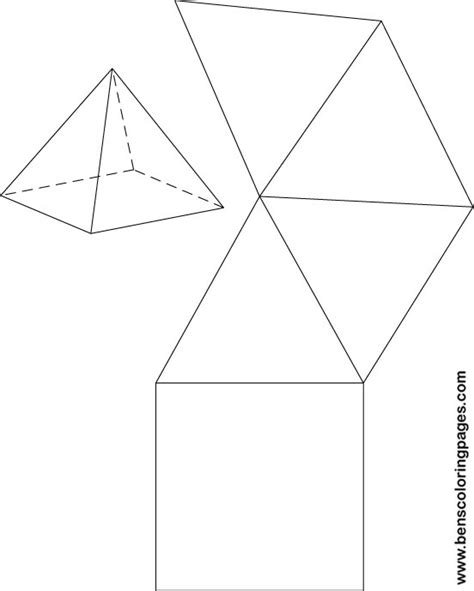 How To Make A Triangular Pyramid Out Of Paper - how to make a triangular pyramid out of paper free