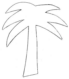 Palm Tree Cutting Template Templates Pinterest Leaf Template Tree Templates And Palm Tree Paper Template