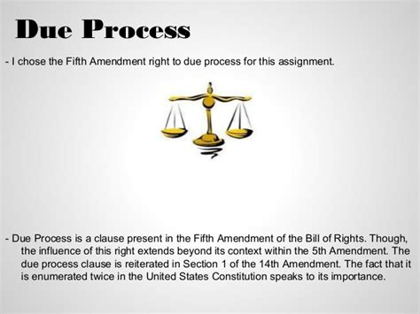 Due Process Of Beyond The State due process of