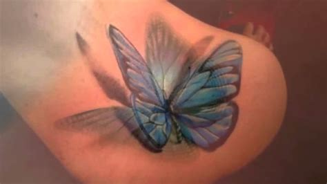 butterfly tattoos on back 52 3d butterfly tattoos