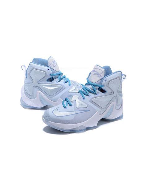 white grey mens nike lebron 13 shoes