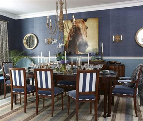 Blue Dining Room Centerpieces Favorite 14 Images Blue Dining Room Decorating Ideas