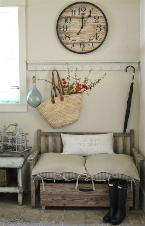 entryway decorations 27 cozy and simple farmhouse entryway d 233 cor ideas digsdigs