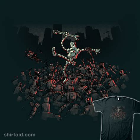 film zombie robot robot zombies shirtoid