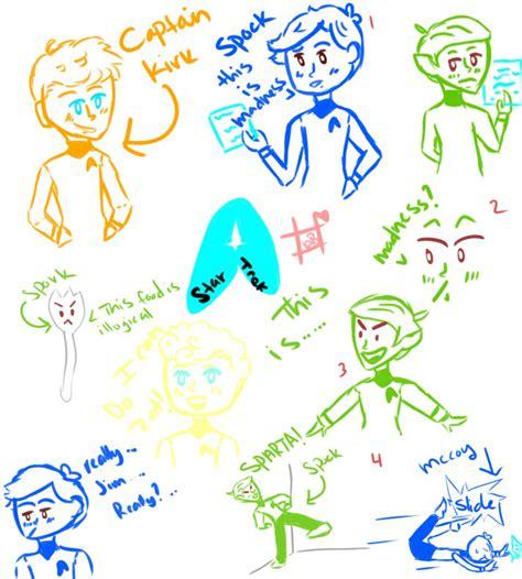 doodle trek trek doodles by iamthemangofactory on deviantart