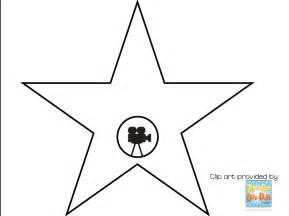 Hollywood Walk Of Fame Star Templates Printable Sketch Coloring Page sketch template
