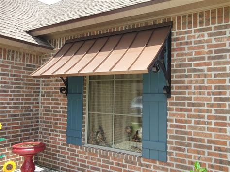 metal porch awnings metal awnings