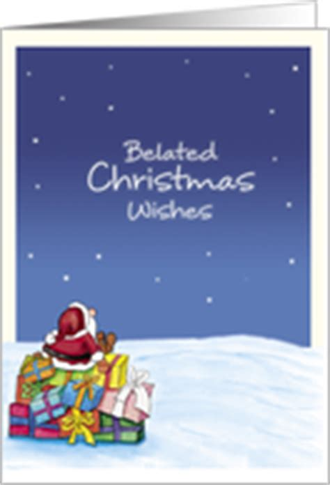 belated christmas cards from greeting card universe