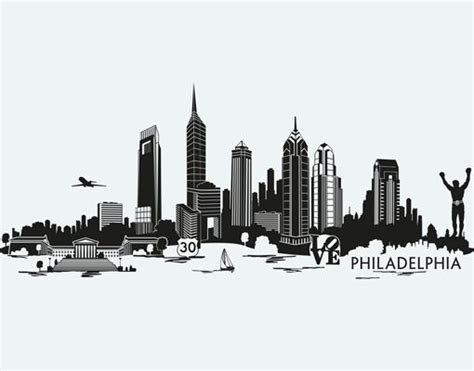 philly skyline tattoo 25 best ideas about philadelphia skyline on
