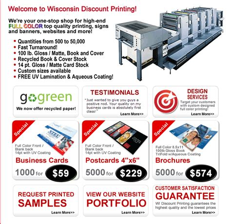 cost to make business cards wisconsin discount printing low cost color business