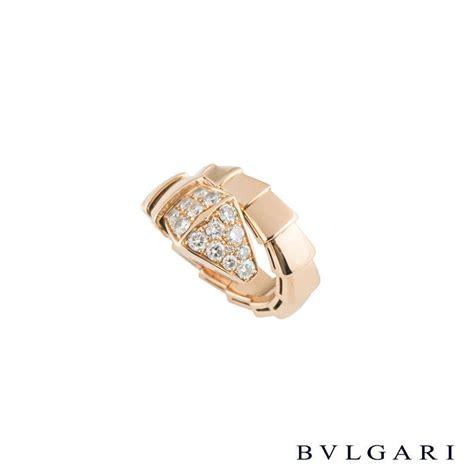 bvlgari serpenti ring rich diamonds of bond