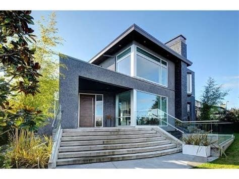 Extraordinary Contemporary Home In Vancouver British Modern Home Plans Vancouver