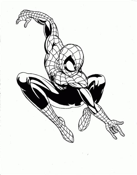 ultimate spiderman coloring pages coloring home